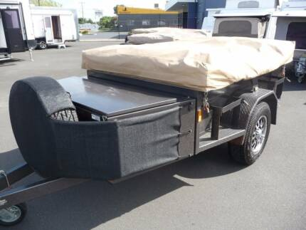 2014 BozBuilt Offroad 7'x5' Trailer with OzTrail Outer Ridge Tent East Bunbury Bunbury Area Preview