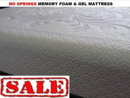 NO SPRINGS MEMORYFOAM  MATTRESS WA MADE CHEAPEST END OF YEAR SALE