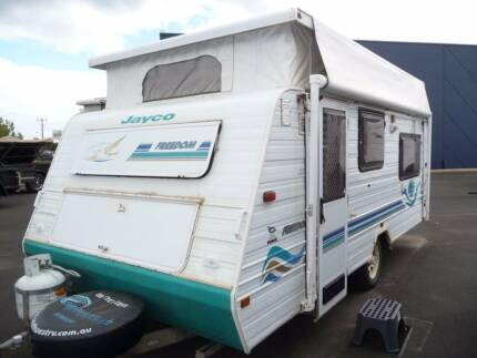 "2001 Jayco Freedom 16'6"" AIR-CON & ANNEX @ South West RV Centre"