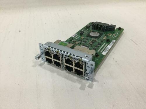 Cisco NIM-ES2-8 8-Port Gigabit Ethernet LAN Switch Network Interface Module