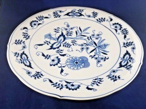 "Blue Danube BLUE DANUBE Cake Serving Plate 12 7/8"""
