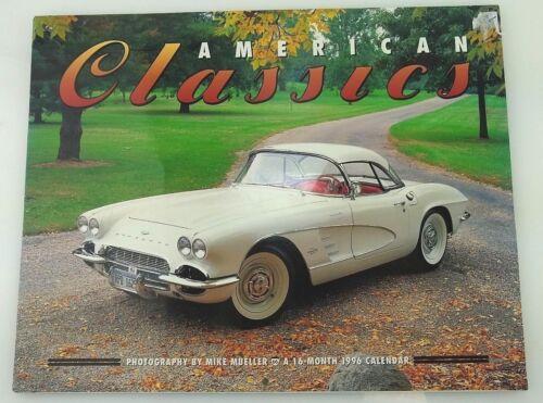 1996 Large American Classics Car Calendar Corvette T-Bird Darrin by Mike Mueller