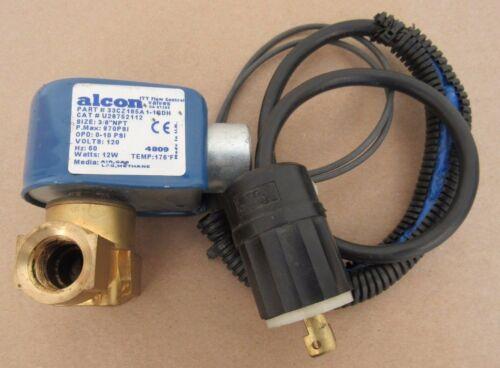 "ALCON SAFETY VALVE P/N 33CZ185A 1-1GDH CAT # U28752112 3/8"" NPT ITT FLOW CONTROL"