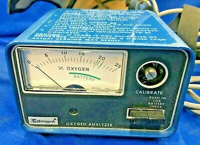 Edmont-wilson Oxygen Analyzer Model 60620 200375 Cab B