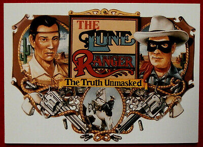 THE LONE RANGER - Card #41 - Dart 1997 - THE TRUTH UNMASKED