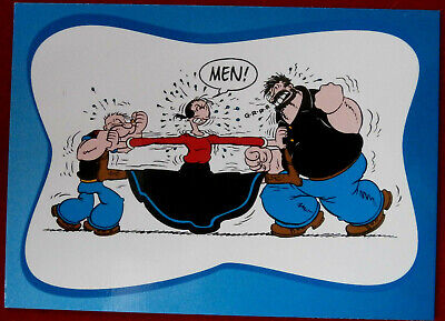 POPEYE - Individual Card #81 - SITUATIONS: POPEYE, OLIVE OYL AND BRUTUS