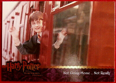 HARRY POTTER - SORCERER'S STONE - Card #089 - NOT REALLY GOING HOME, Artbox 2005