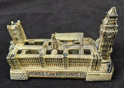 """London Houses of Parliament - Palace of Westminster Souvenir Building - 4 1/2"""""""