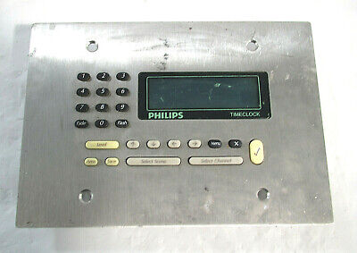 Philips Dtc602-na Time Clock Monitorfor Parts Repair