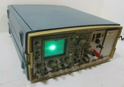 Tektronix Tm-515 Mainframe W Sc-502 15mhz Oscilloscope Fg-501a Function Gen.