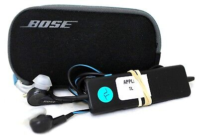 Bose Quiet Comfort 20 QC20 2nd GEN(Apple) In Ear Headphones - Black/Blue   30-1A