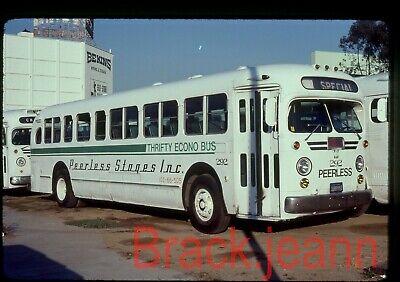 Peerless Stages (CA) original bus slide # 292 taken 1981