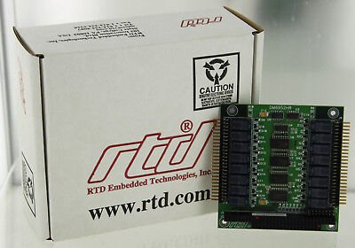 Rtd Embedded Technologies Dm6952hr-h Pc104 Power Relay Module Circuit Board New