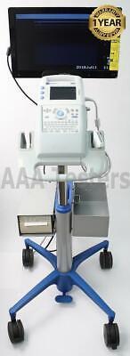 Sonosite 180 Plus Portable Ultrasound System W Cart Printer Monitor L38 C60