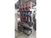 Pollard 4 head Drilling Machine