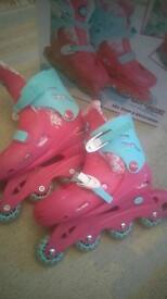 Roller blades size 13+