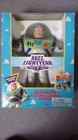 Original Buzz Lightyear action figure by Thinkway in original box - VGC
