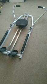 York Hydronic rowing machine £40 can deliver.