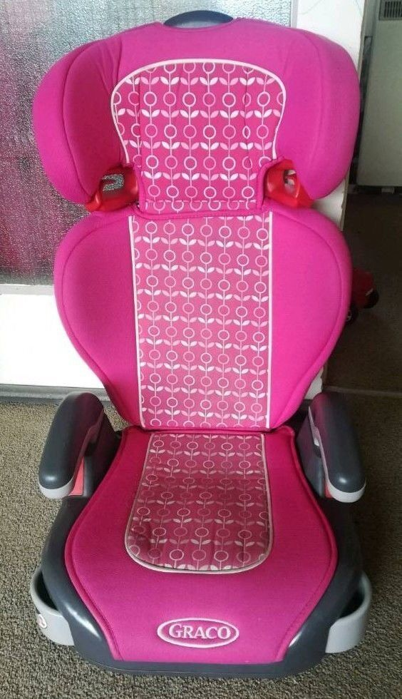 Graco Junior Group 2 & 3 Car Seat in Pink