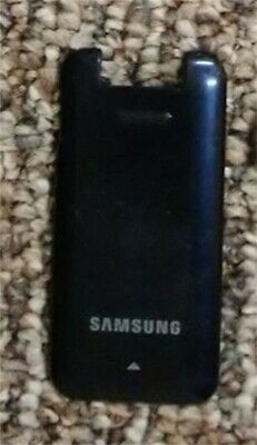 GENUINE Samsung Two Step SCH-R470 BATTERY COVER Door BLUE R470 Two Step