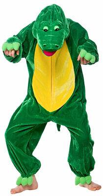 Kroki Krokodil Kostüm für Kinder NEU - Mädchen Karneval Fasching Verkleidung Kos ()
