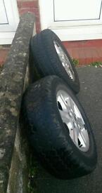Wheels,4 Freelander 15 inch wheels