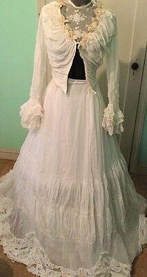 Antique 1800 Victorian Dress