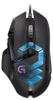 Logitech G502 910-004615 Proteus Spectrum RGB Tunable Gaming Mouse 12,000 DPI