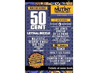 Mutiny Festival Saturday ticket