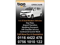 TAXI LEICESTER TO ANY DESTINATION IN UK WITH FREINDLY DRIVER WITH AC, AIRPORT, EVENTS, DAY TRIPS.