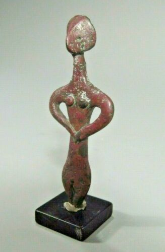 RARE Ancient Syro-Hittite Copper Idol ca. 2800-1500 BC Ex Jeff Hunter Collection