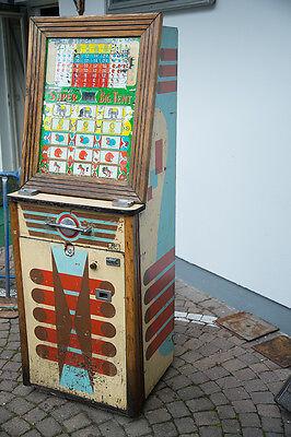 alter Spielautomat Automat Spiel Amerika