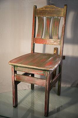 Bauernstuhl Stuhl Sitzmöbel Holzstuhl Zimmerstuhl Art Deco Vintage Landhausstil