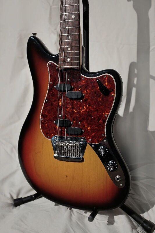 Vintage 1966 Fender Electric XII 12 String Sunburst Jimmy Page