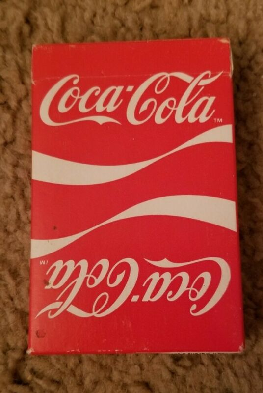Coca Cola Playing Cards Vintage