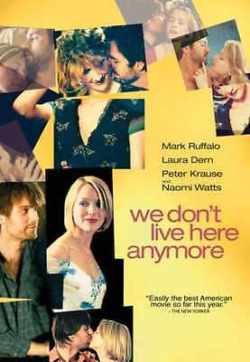We Dont Live Here Anymore Dvd  2004    Mark Ruffalo  Laura Dern  Peter Krause