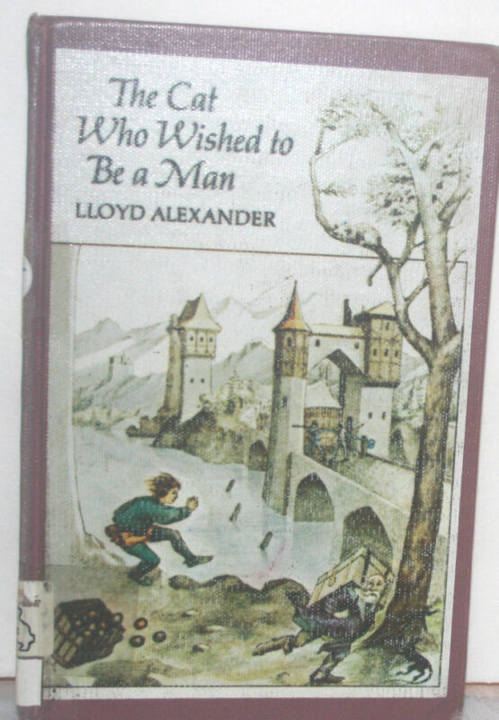 The Cat Who Wished to Be a Man by Lloyd Alexander (1978, Hardcover) 1st Edition
