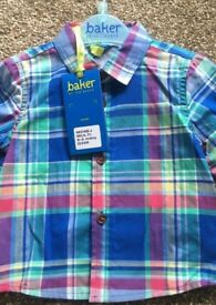 Ted baker shirt size 0-3 months brand new