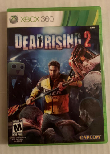 Dead Rising 2 Microsoft Xbox 360, 2010 With Manual. Free Shipping - $6.95