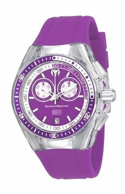 Technomarine TM-115332 Women's Cruise Sport Chronograph Purple Silicone Watch ()