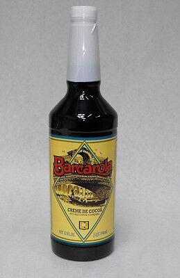 Gourmet Creme De Cocoa Syrup 32oz. Barcarola Drink And Italian Soda Flavor