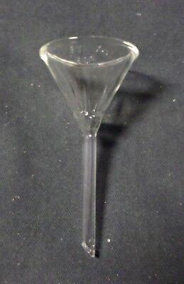 New Pyrex Short Stem 50mm Diameter 60 Angle Fluted Funnel 6180-50