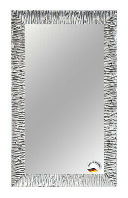 Spiegel Wandspiegel Badspiegel Modern Silber Retro Antik - Holz Rahmen FIX Groß