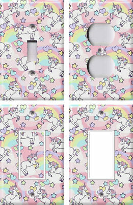 Unicorns and Rainbows - Light Switch Covers Home Decor Outlet - Unicorns And Rainbows