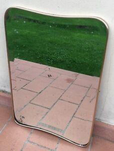 Mirror Specchiera 1950 Ottone e Vetro Molato: Ponti Buffa Parisi Ingrand!!! - Italia - Mirror Specchiera 1950 Ottone e Vetro Molato: Ponti Buffa Parisi Ingrand!!! - Italia