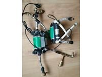 Salamander 1.5 Bar Shower Pump and Techflow TP 50 Twin Shower Pump