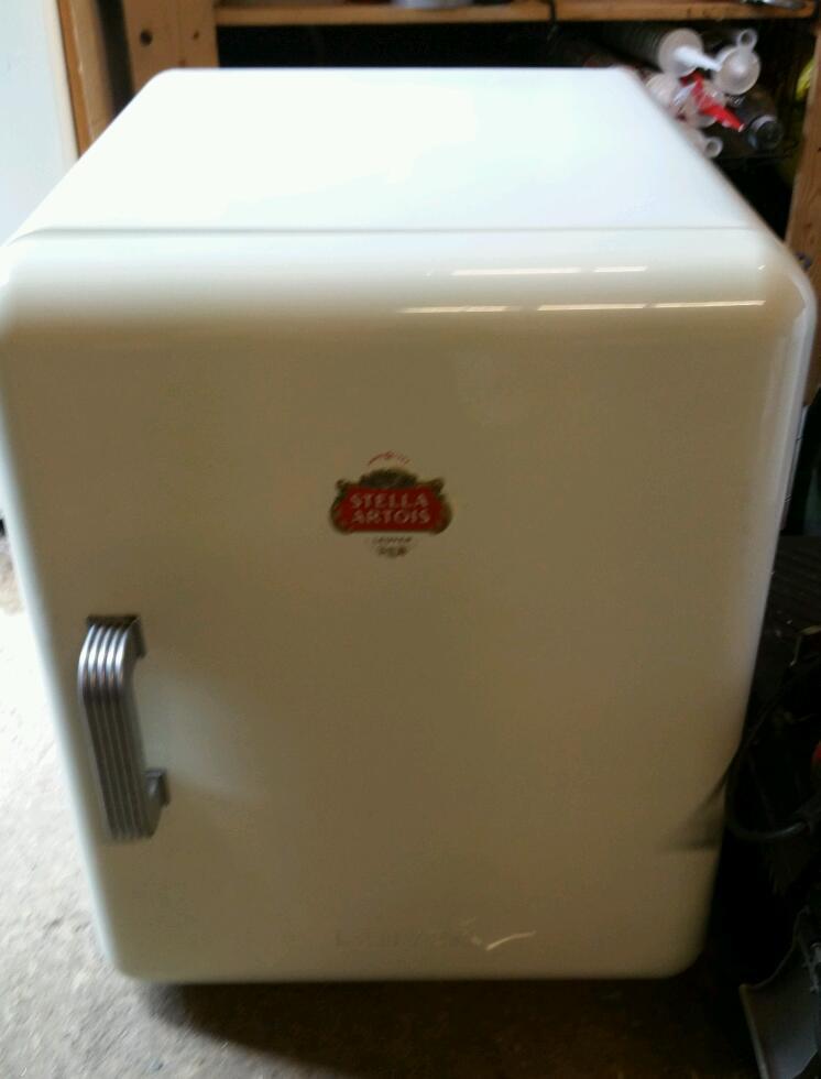White Stella Beer Fridge Mancave Bbq In Chelmsford