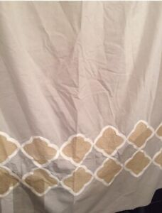 Threshold Fabric Shower Curtain