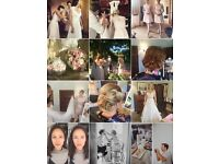 Pro hair and makeup artist services for weddings and special occasions