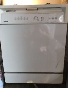 Mint Kenmore Dishwasher